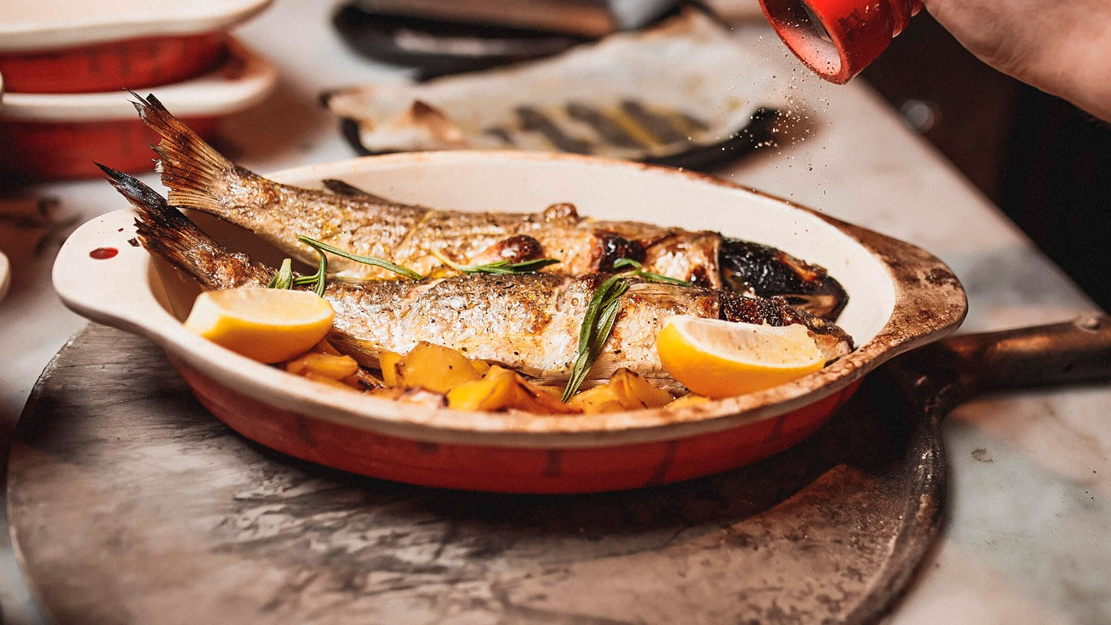 Рыба в огне