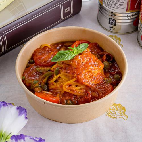 Спагетти alla putanesca