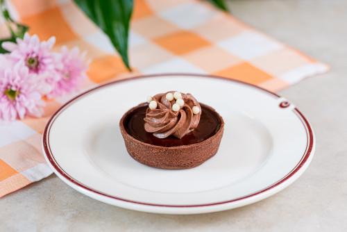Тарта с шоколадом