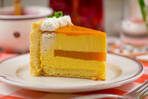 Торт йогуртовый с манго