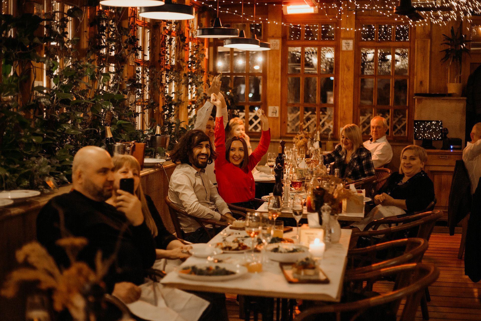 Ждем на праздничном итальянском ужине в Тавернетте