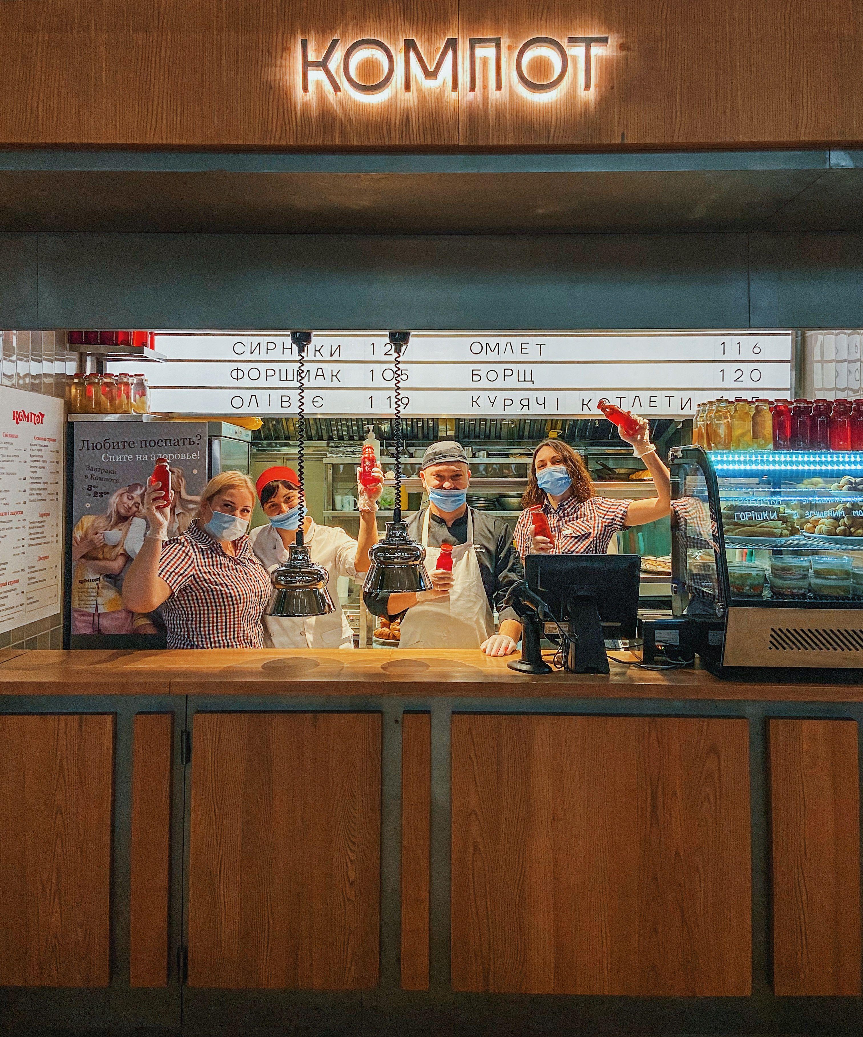 """Новый """"Компот"""" открылся на Odesa Food Market"""