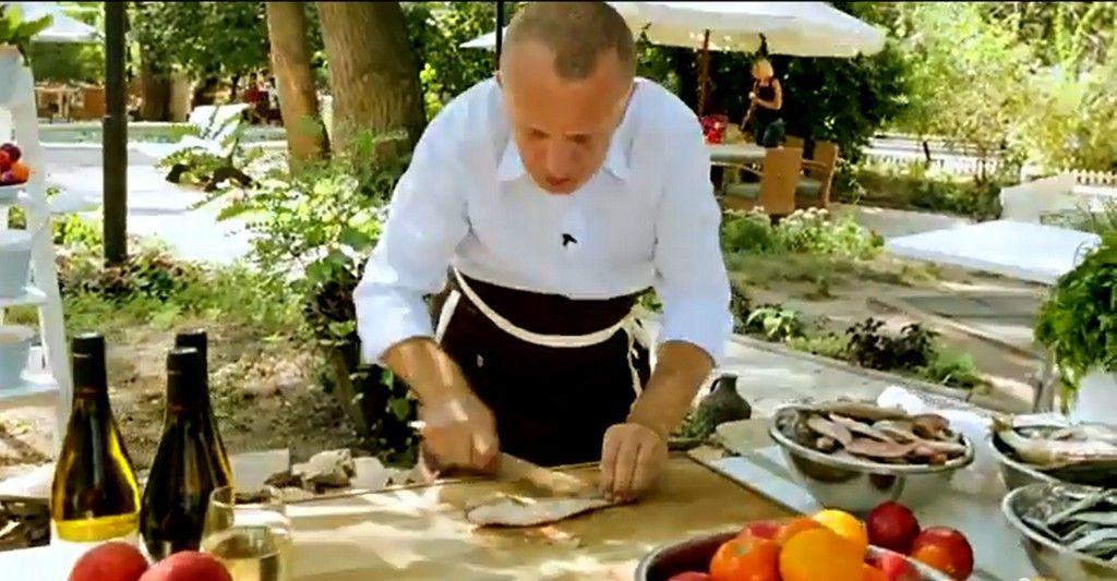 Рыбный суп на «Даче» (видео)