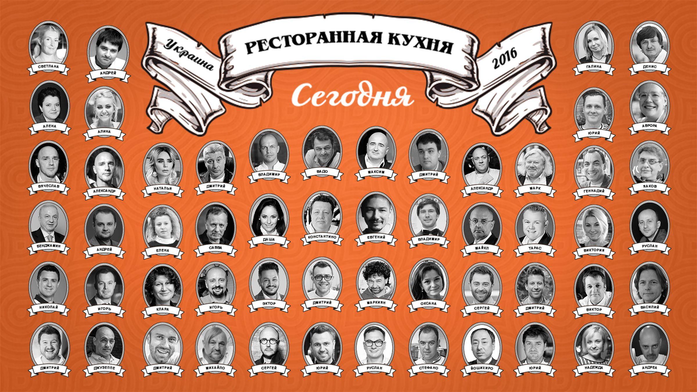 Creative Chefs Summit Kyiv 2016. Украинская кухня: вчера, сегодня, завтра.